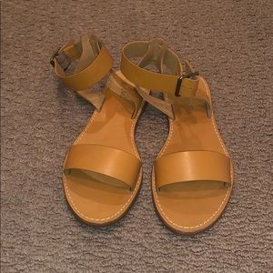 Madewell sandals brand new